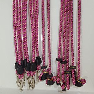 Pink Clip Leads